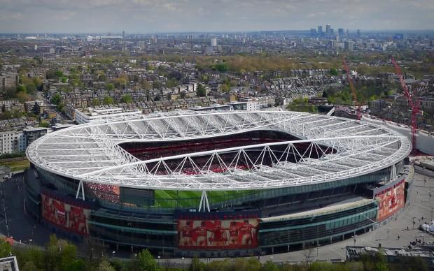 Arsenal Emirates Stadium Wallpaper HD Wallpapers Backgrounds 620x388