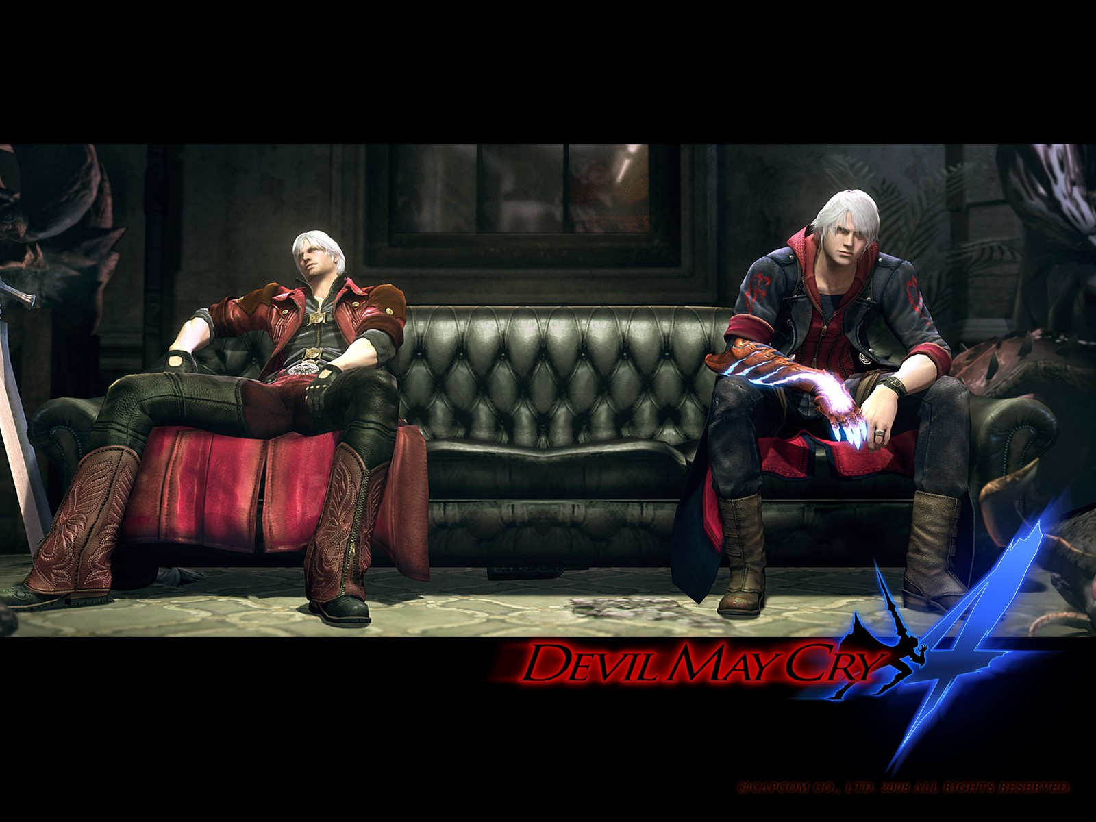 Jogo PC   Devil May Cry 4   RELOADED   [Feh]   The Anony Bay   O 1600x1200