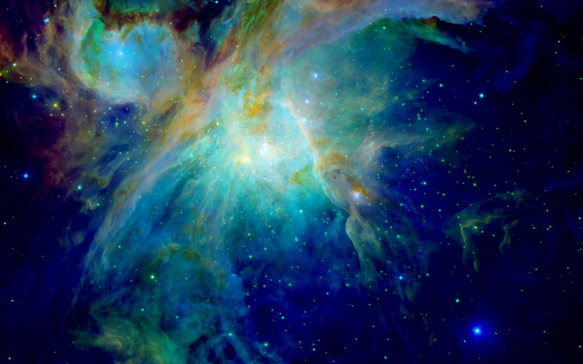 blue nebula wallpaper wallpapersafari