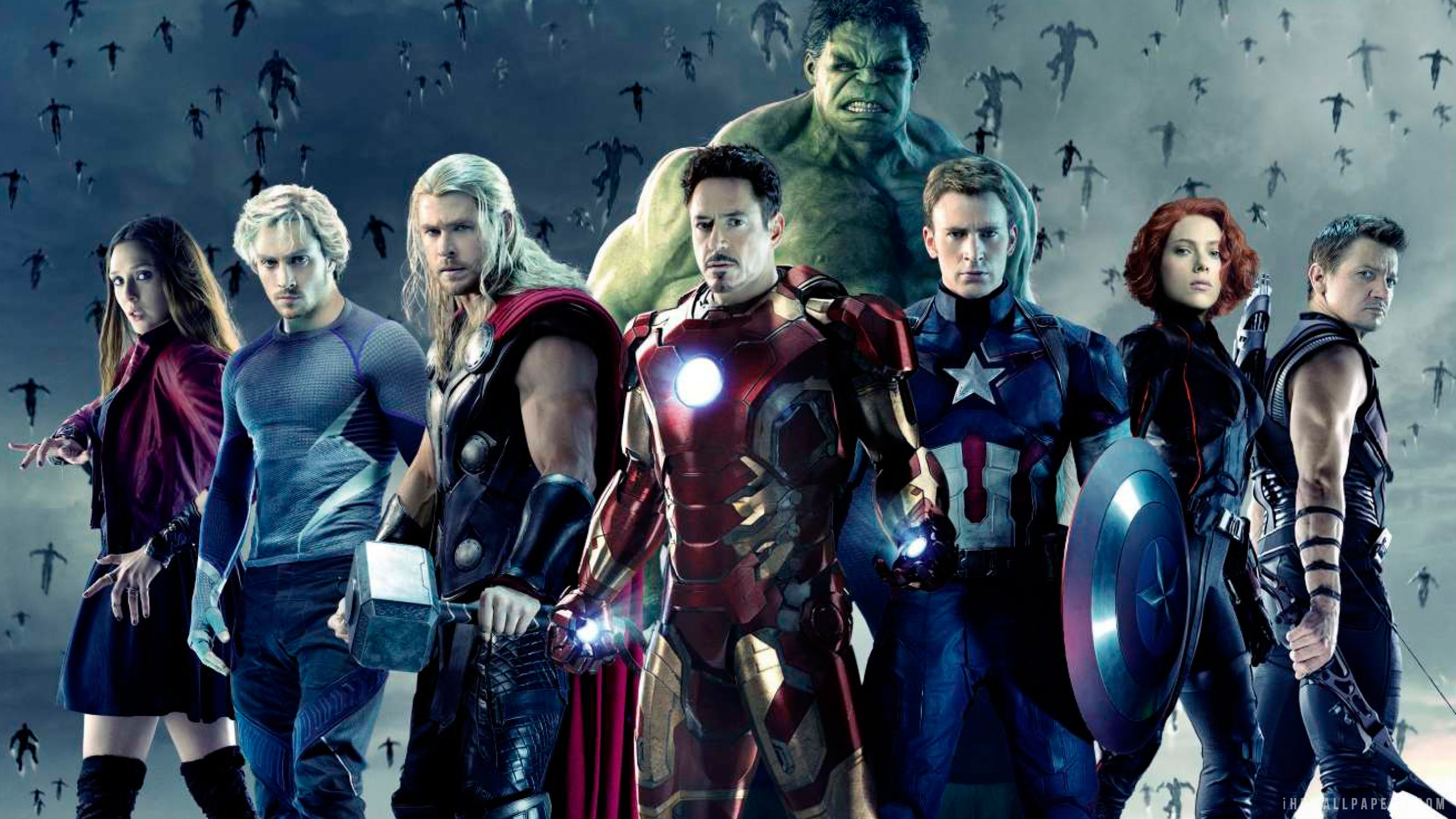 The Avengers Age of Ultron Team HD Wallpaper   iHD Wallpapers 2560x1440