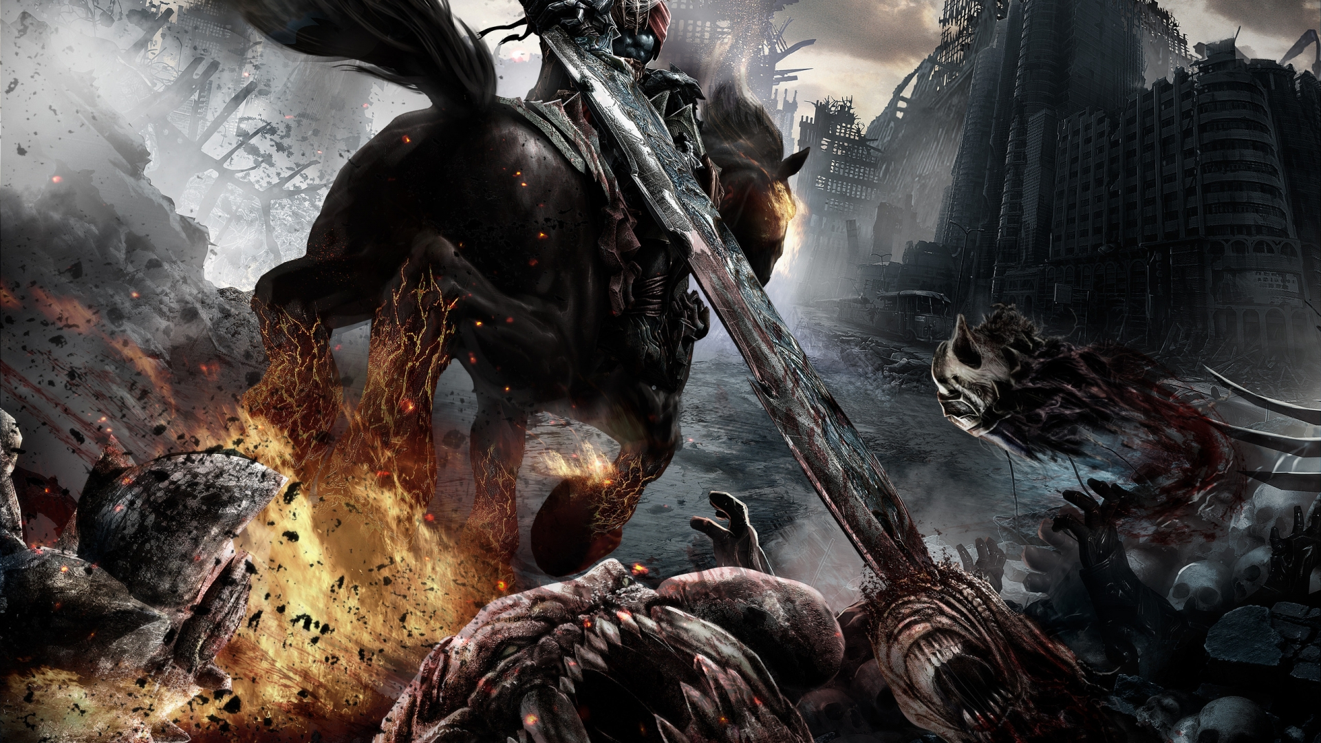 Darksiders Adventure Video Game   High Definition 1920x1080