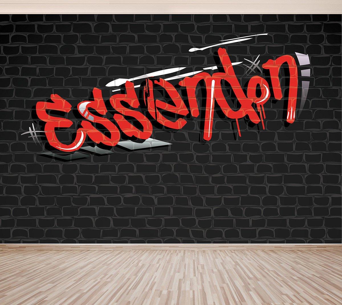 Graffiti Essendon   Full Wall Mural Pro Art   Factory Direct 1200x1070