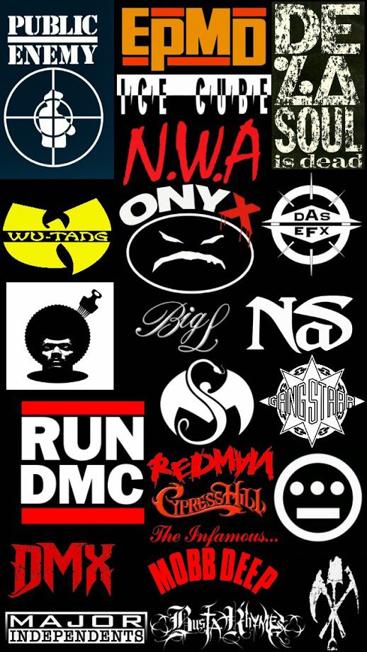 Hip Hop Logo Iphone 5 Wallpaper Old School Hip Hop Pinterest 518x920