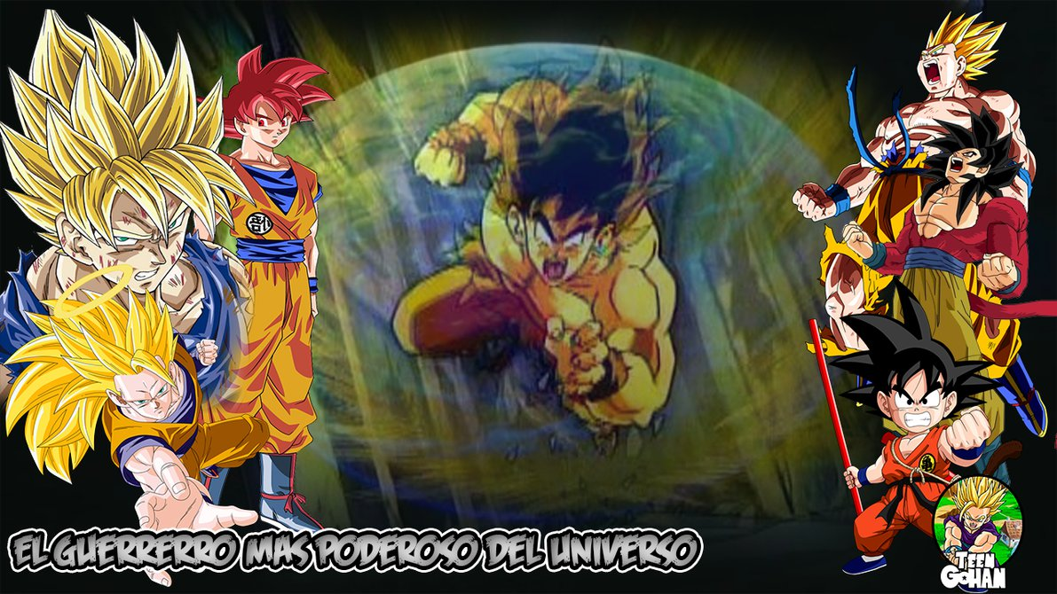 Wallpaper HD Goku   DBZ by TeenMaxing 1191x670