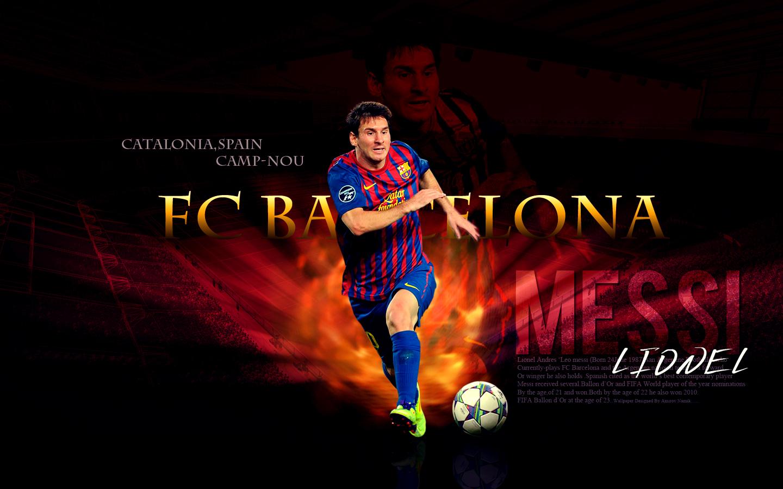 Barcelona FC Lionel Messi Wallpaper HD Wallpicshd 1440x900