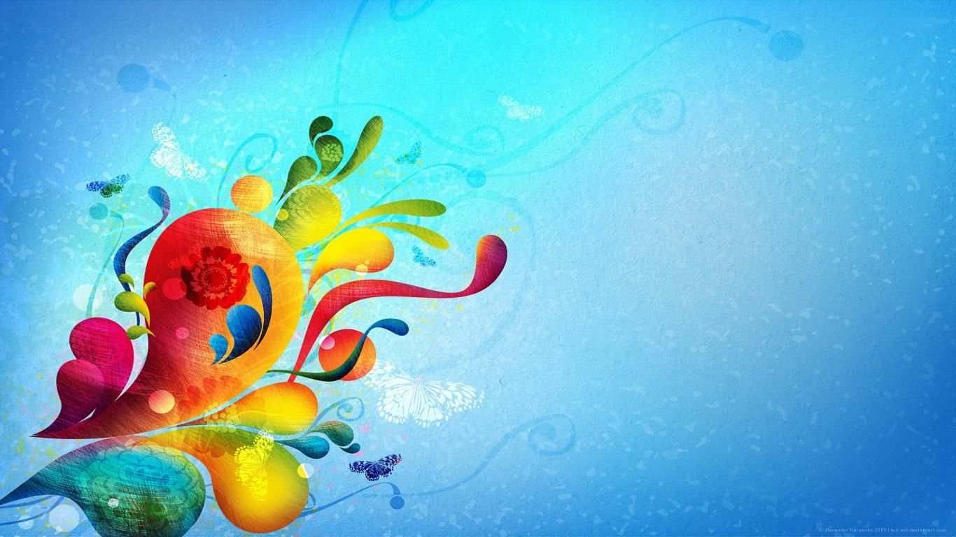 Spring Desktop Wallpaper Download HD Abstract Spring 1366x768