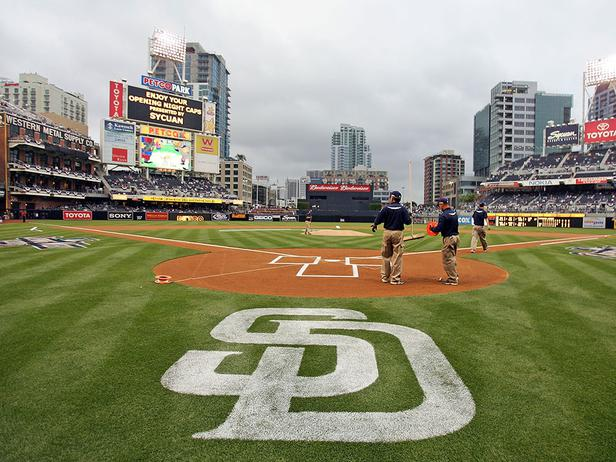 Field Notes Petco Park Home of the San Diego Padres Home 616x462