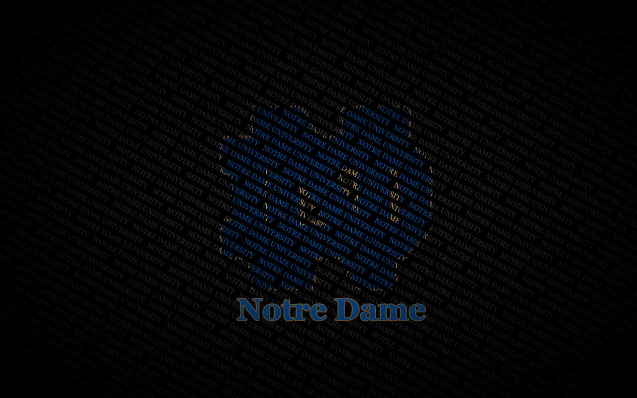 Notre Dame Fighting Irish Desktop Wallpaper Collection 1280x800