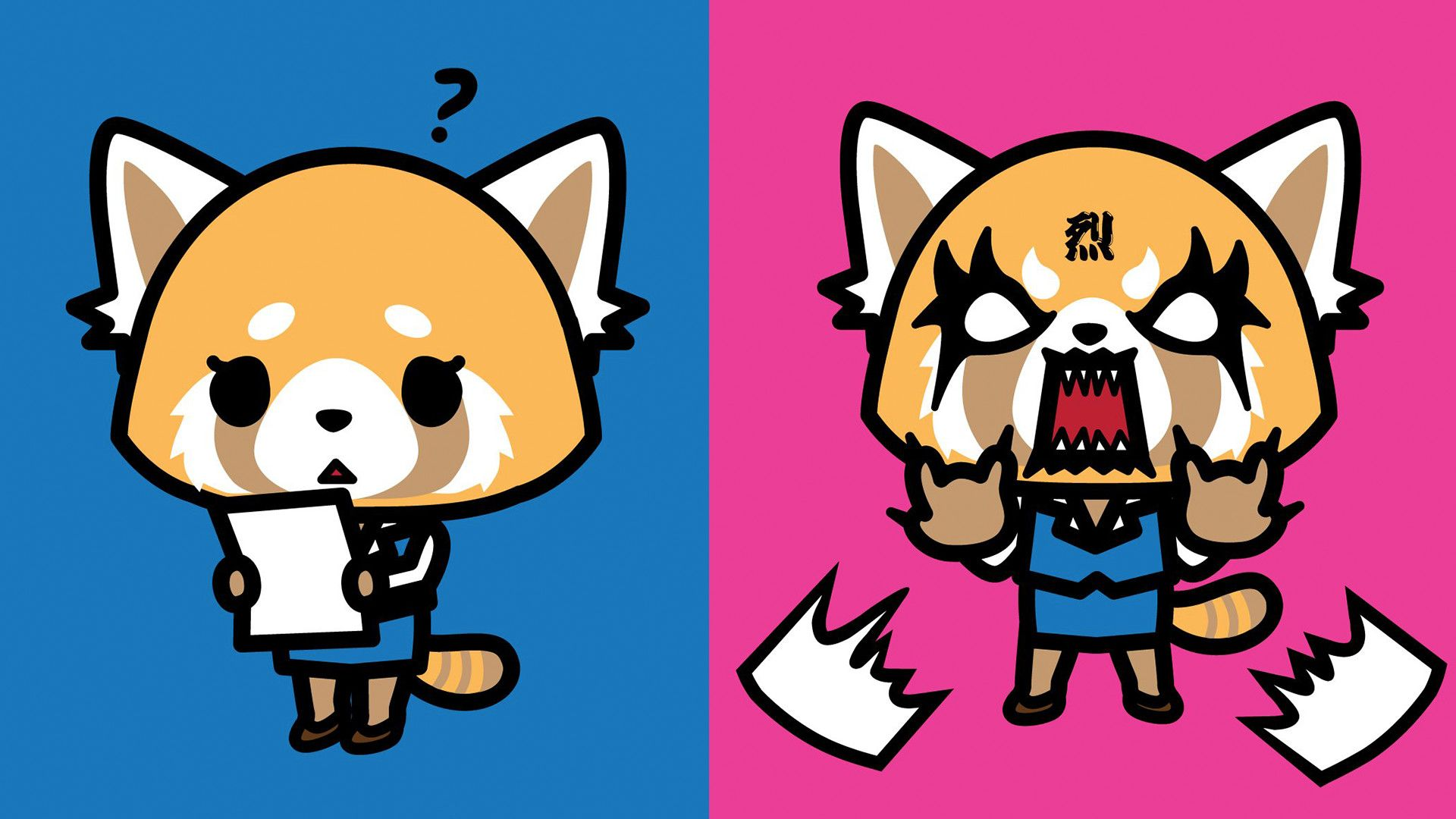download Aggretsuko Wallpapers Top Aggretsuko Backgrounds 1920x1080