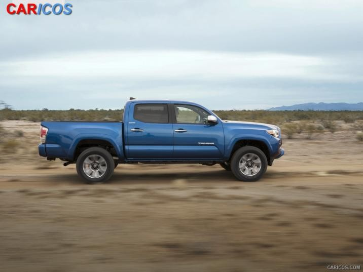 2016 Toyota Tacoma   Side HD Wallpaper 6 1920x1080 716x537
