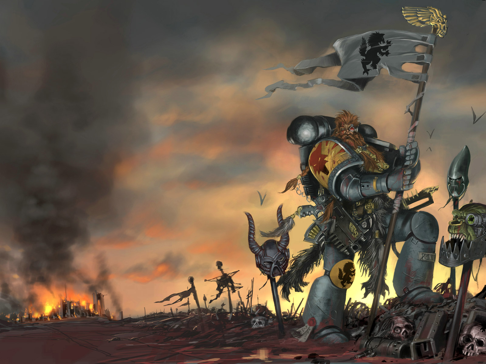 warhammer 40k wallpaper 1680x1050 - photo #39