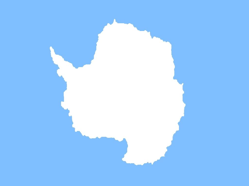 3D National Antarctica Flag Pictures Antarctica Map and City View 1024x768