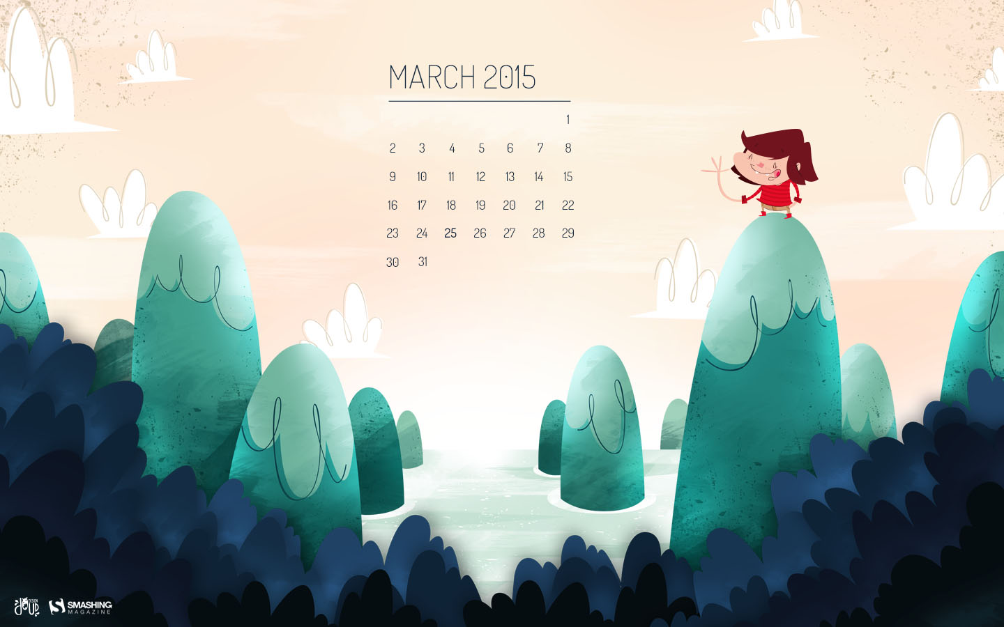 Desktop Wallpaper Calendars March 2015 Smashing Magazine 1440x900