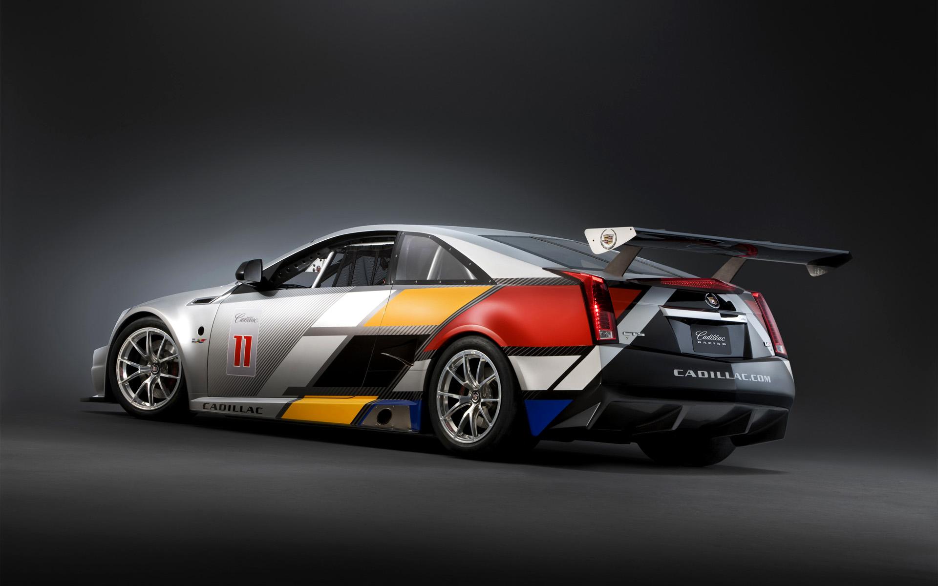2011 Cadillac CTS V Coupe Racecar race cars q wallpaper 1920x1200 1920x1200