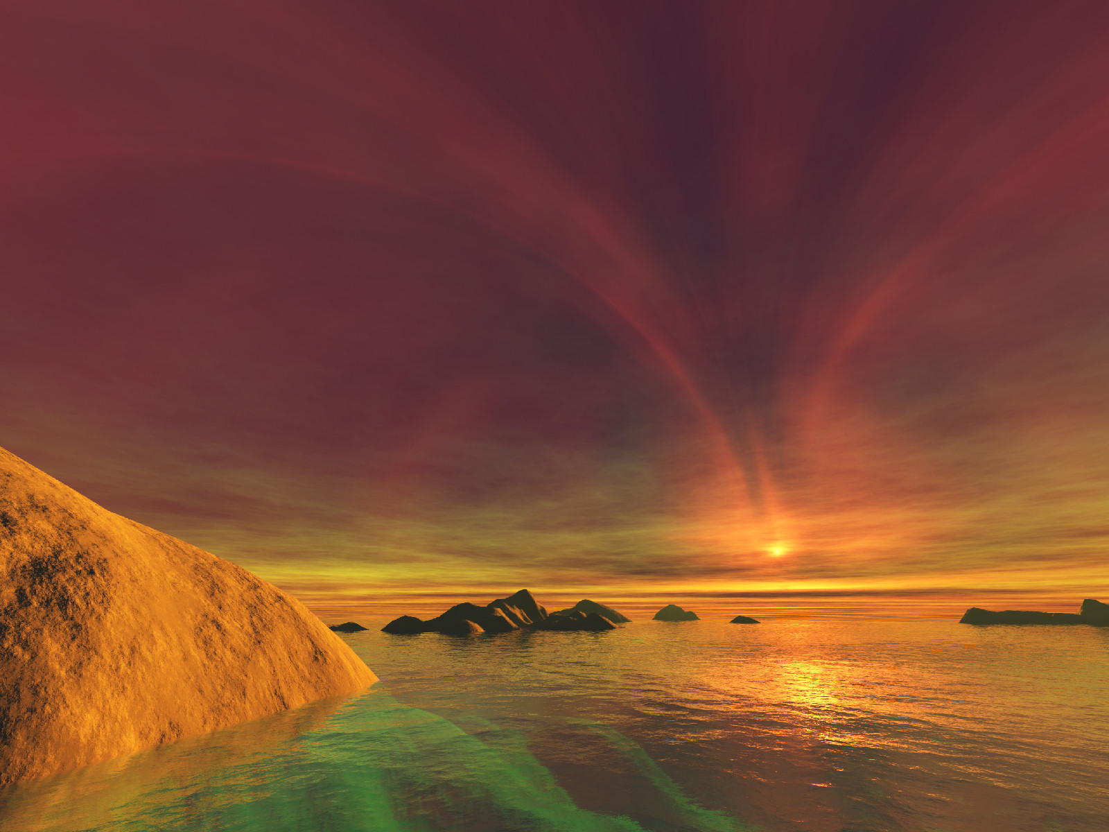 Sunset Desktop Backgrounds and Wallpaper   ChaosTheory   Always 1600x1200