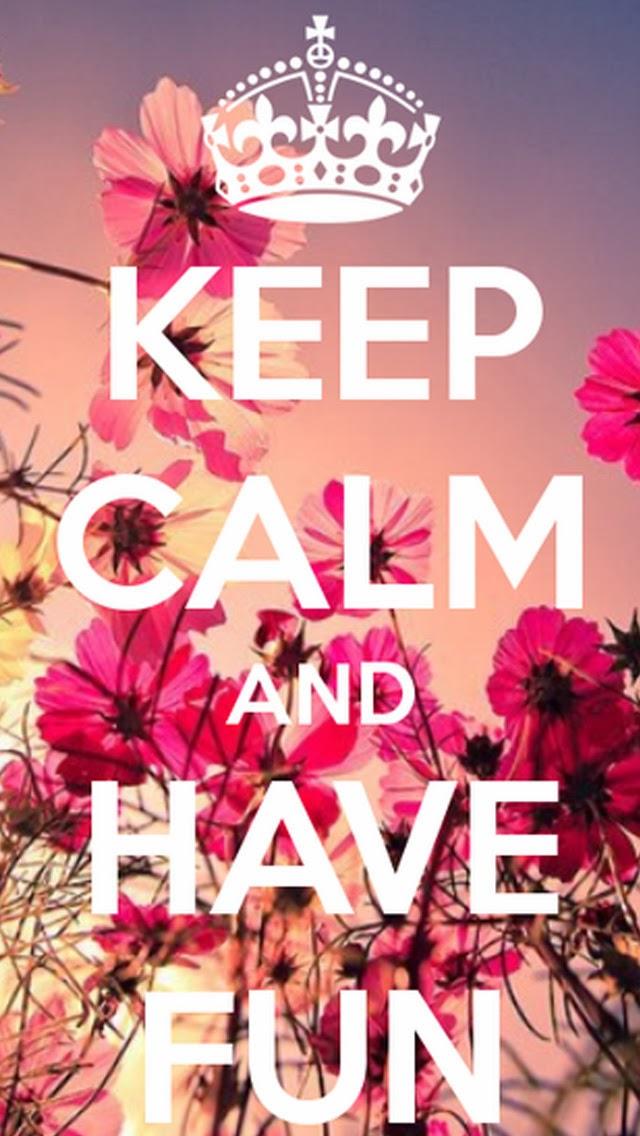 49] Cute Keep Calm Wallpapers on WallpaperSafari 640x1136