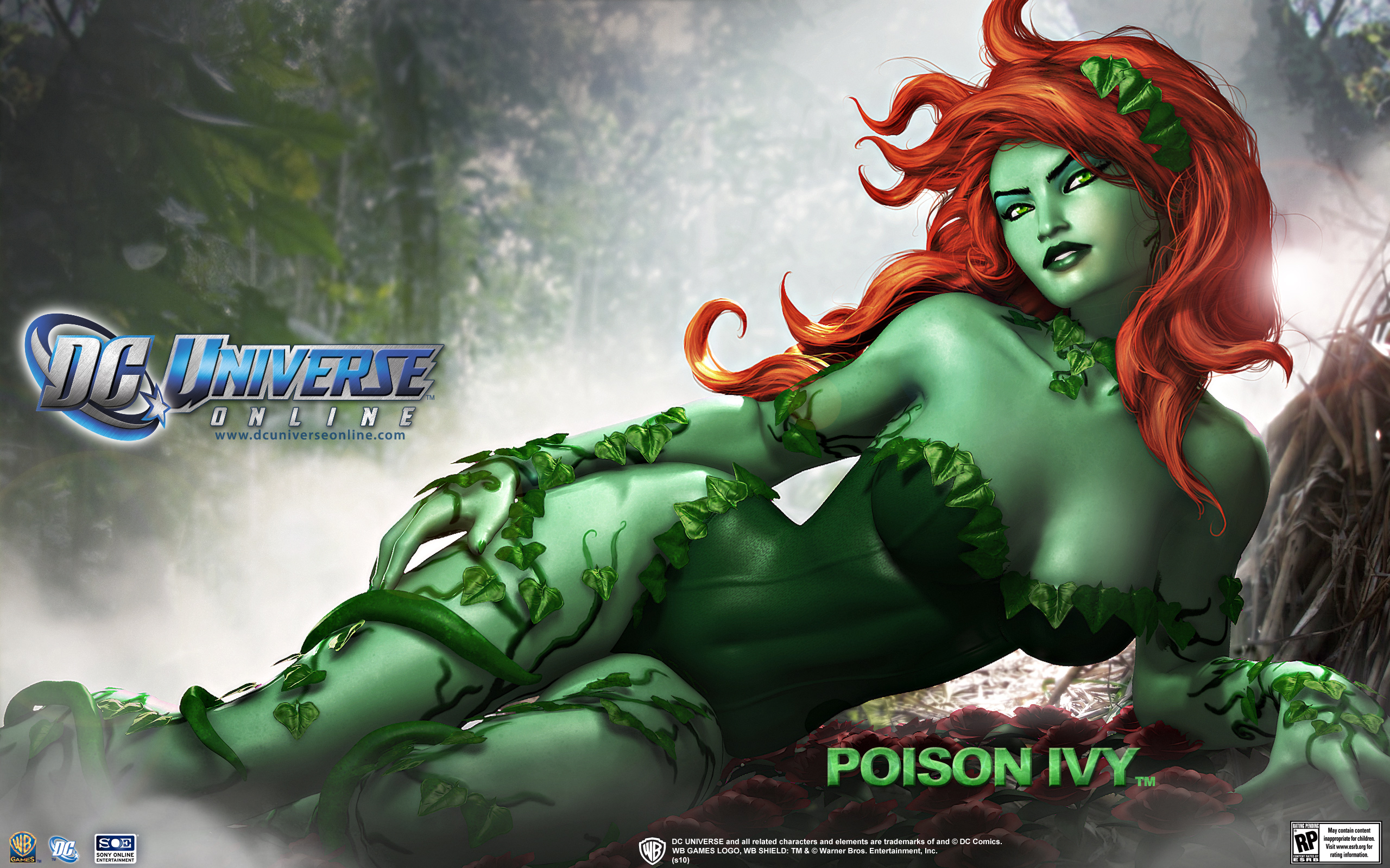 DC Universe Poison Ivy Wallpapers HD Wallpapers 2560x1600
