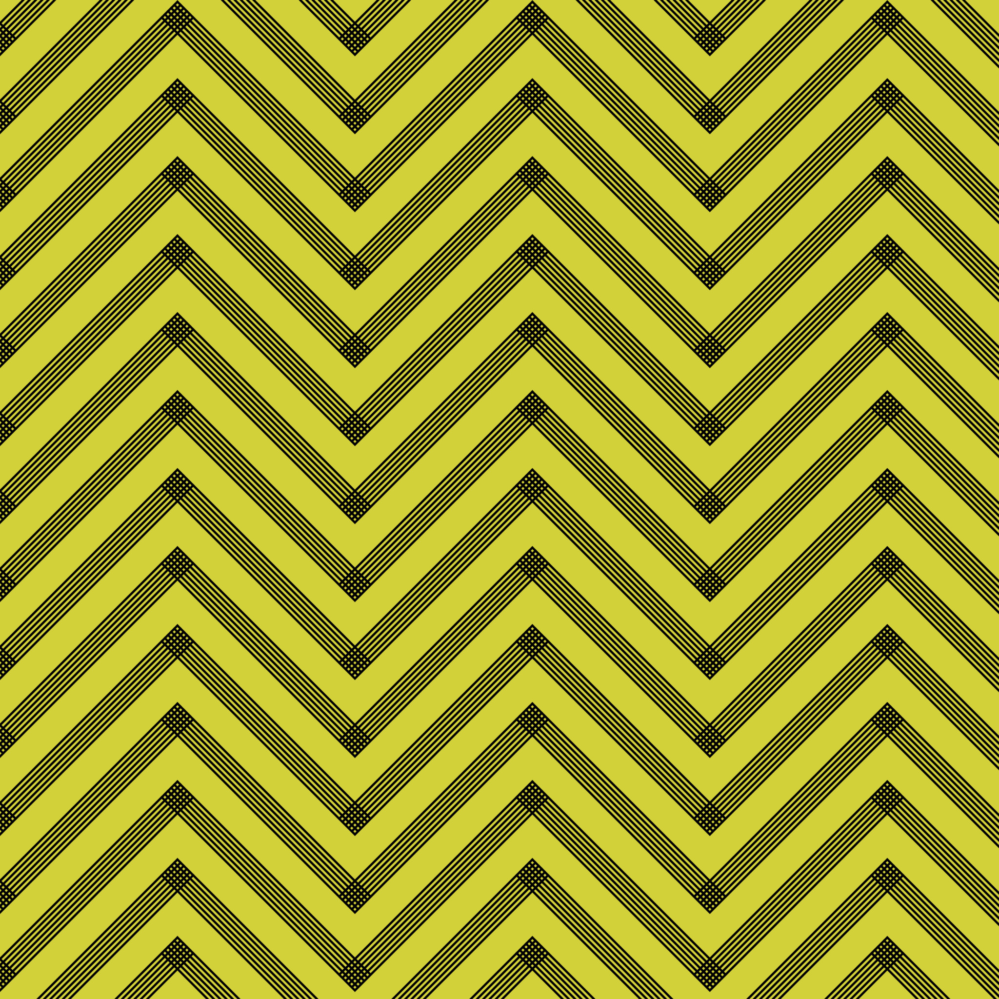 Yellow Chevron Wallpaper 2048x2048