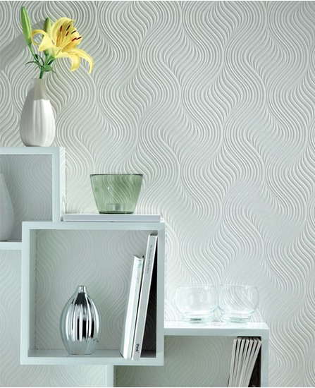 geometric wallpaper design is bold and modern plus this home wallpaper 447x550