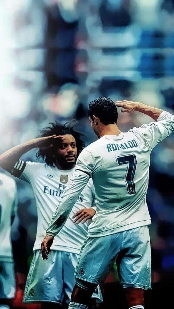 Wallpaper Ronaldo And Marcelo   Hd Football 577x1024