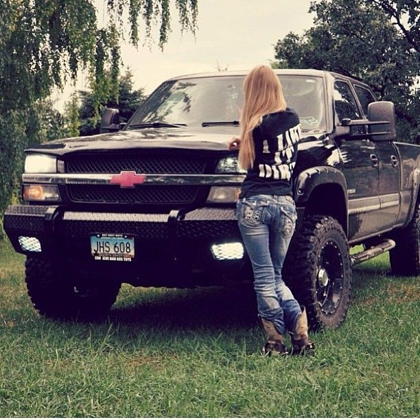 45 country girls and trucks wallpaper on wallpapersafari - Girls and trucks tumblr ...