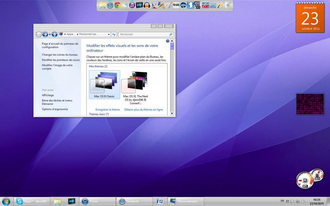 Free download Mac OS 9 Classic for Win7 by djeos546 [1131x707] for