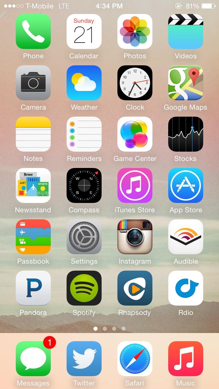 Iphone 6 home screen wallpaper wallpapersafari for Best home screen wallpaper for ipad