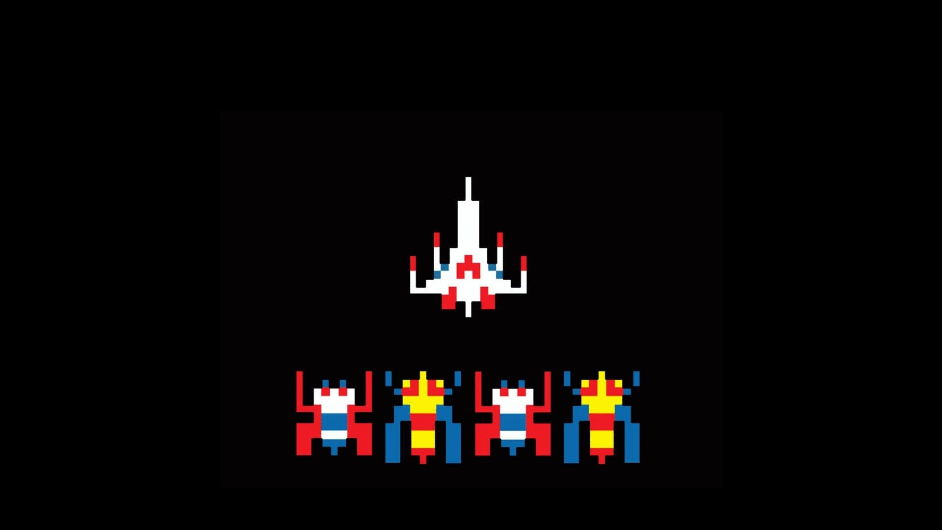 10 Galaga HD Wallpapers Background Images 1920x1080