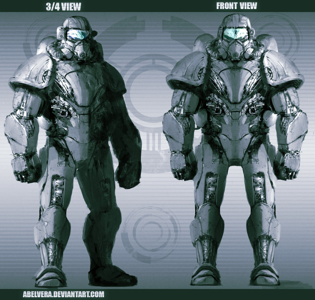 Free Download Power Armor Concept By Abelvera 1024x975 For Your