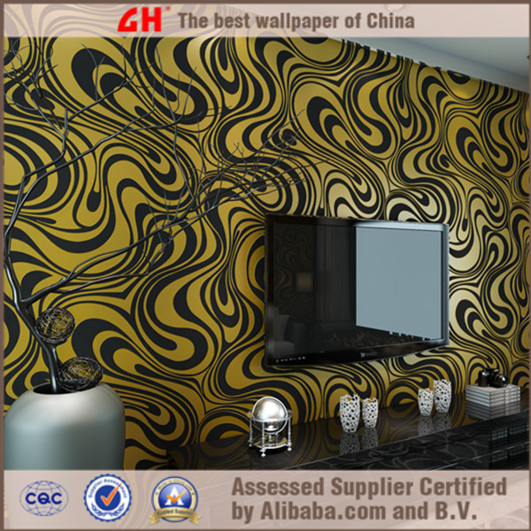 designer wallpaper 3d wallpapers wall decoration dark brown wallpaper 600x600