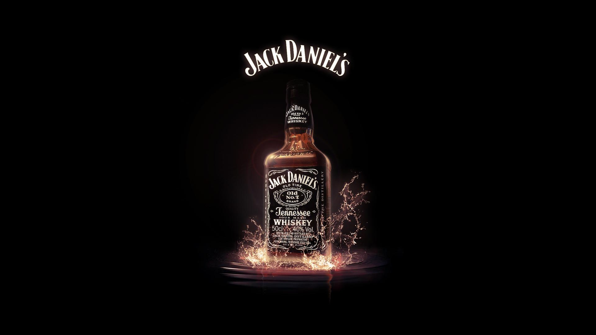 Jack Daniels Alcohol Drinks HD Wallpaper Background 1920x1080