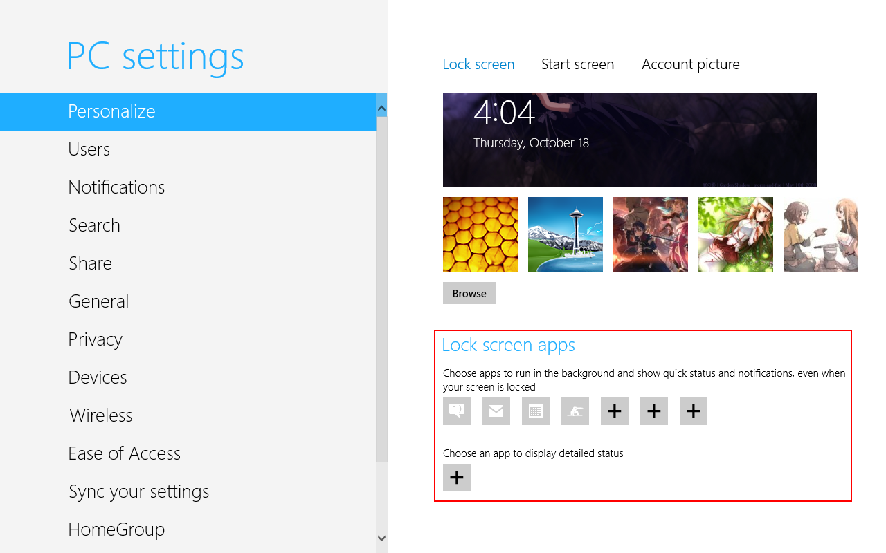Windows Store app is considered a lock screen app if it occupies one 1280x800