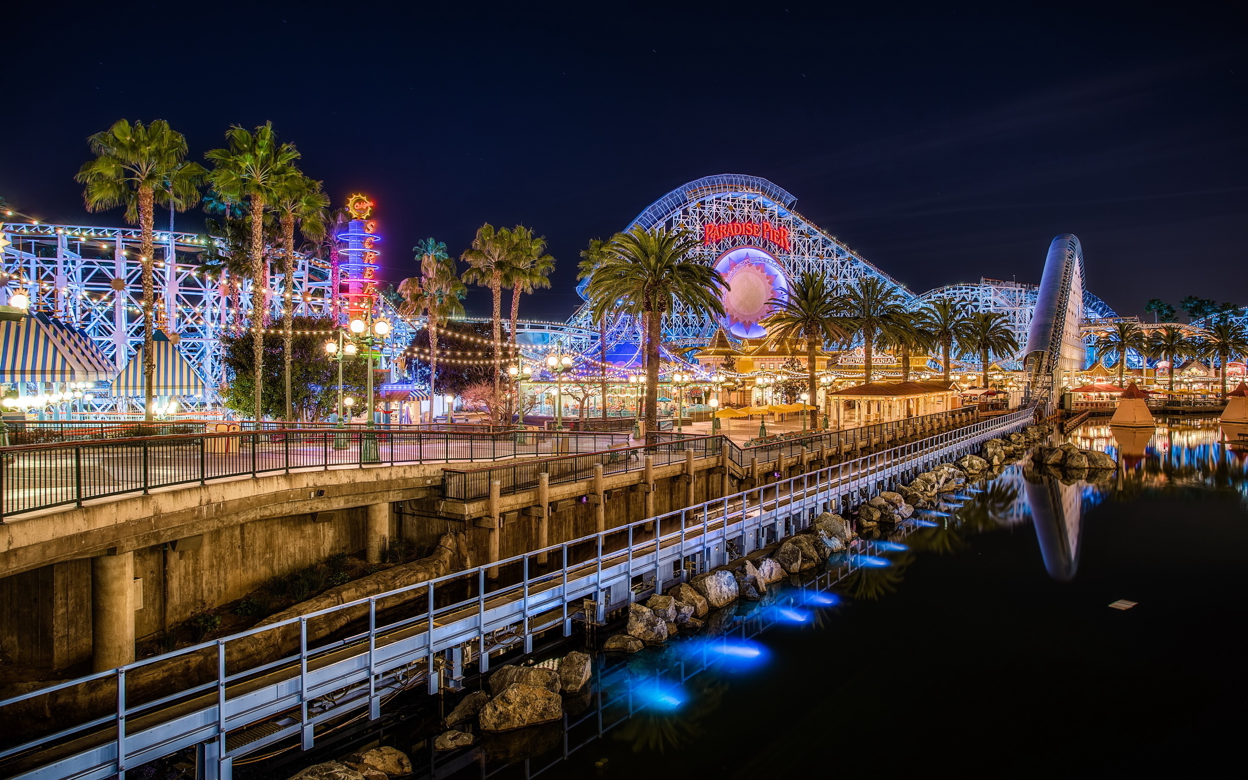 55 Amusement Park HD Wallpapers Background Images 2560x1600