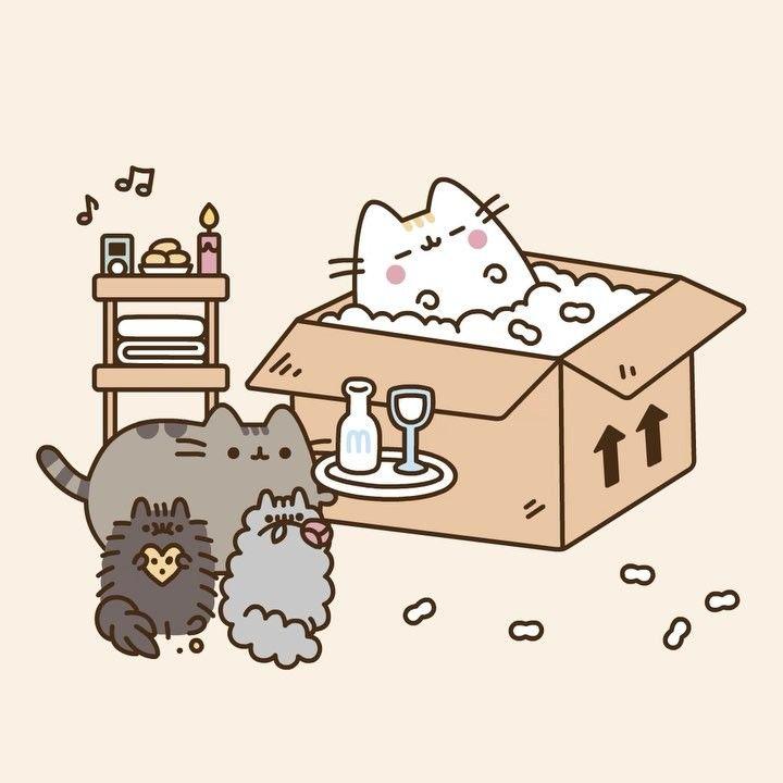 Happy Mothers Day cute kawaii wallpaper cat cartoon 720x720