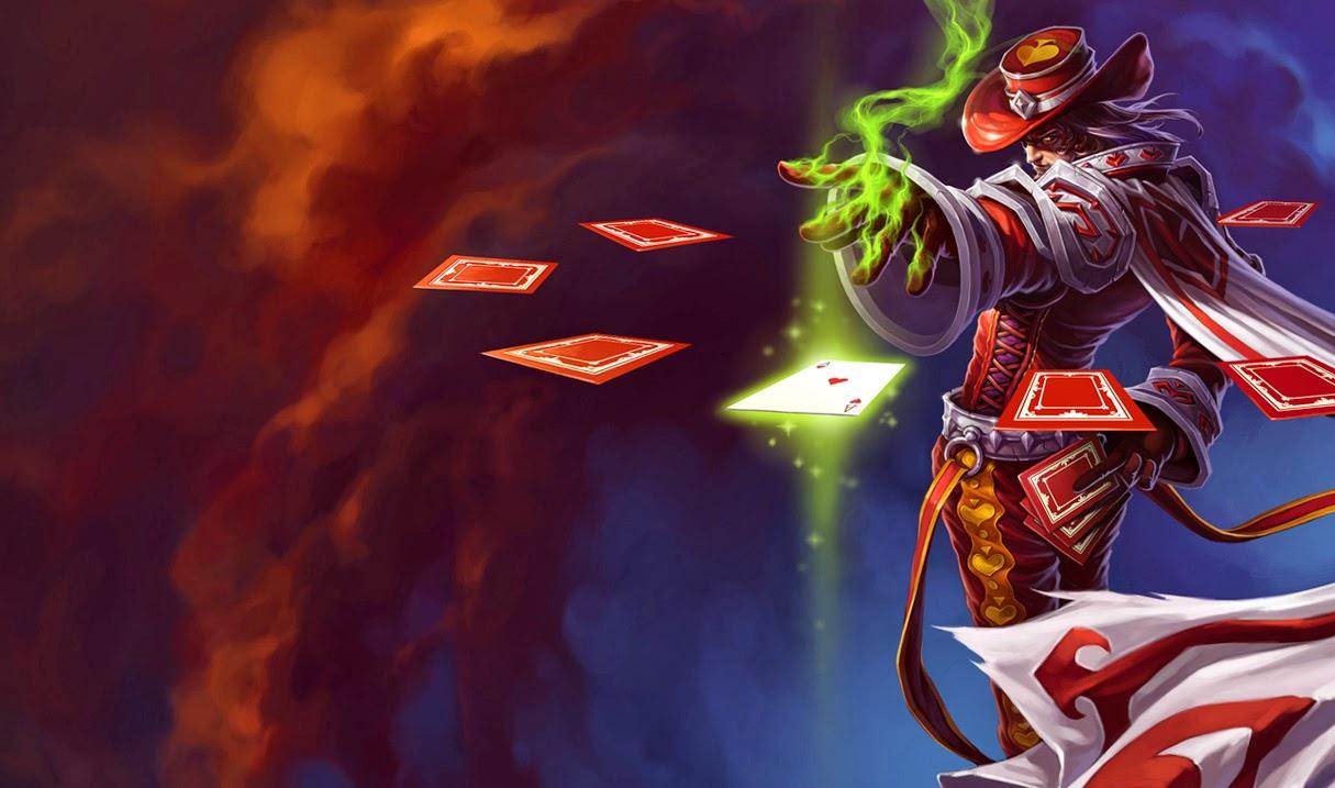 Twisted Fate League of Legends Wallpaper Twisted Fate Desktop 1215x717