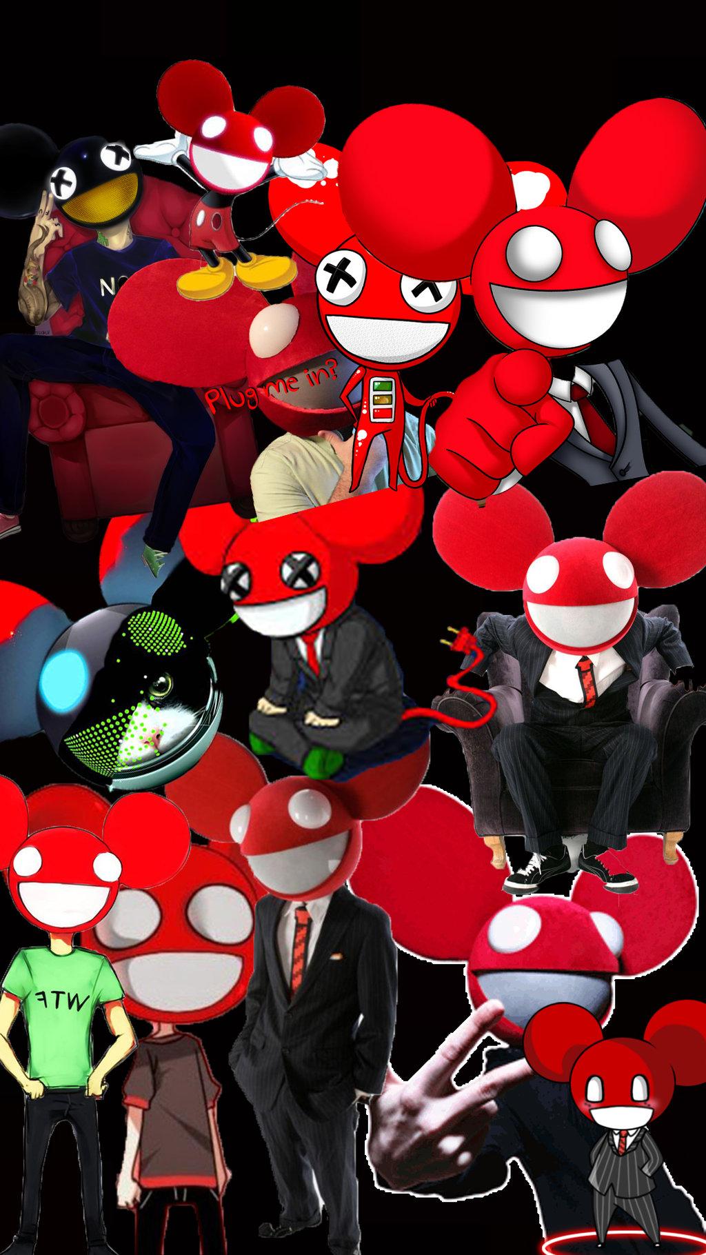 Deadmau5 phone wallpaper by MasterOfCheetahz 1024x1820