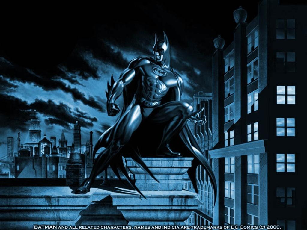 Marvellous Batman Comic Book Wallpaper 1024x768PX 1024x768