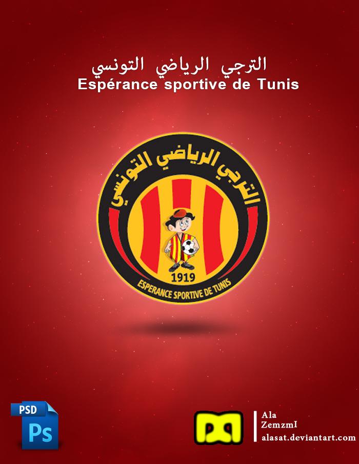ES Tunis Logo Psd by Alasat 700x905