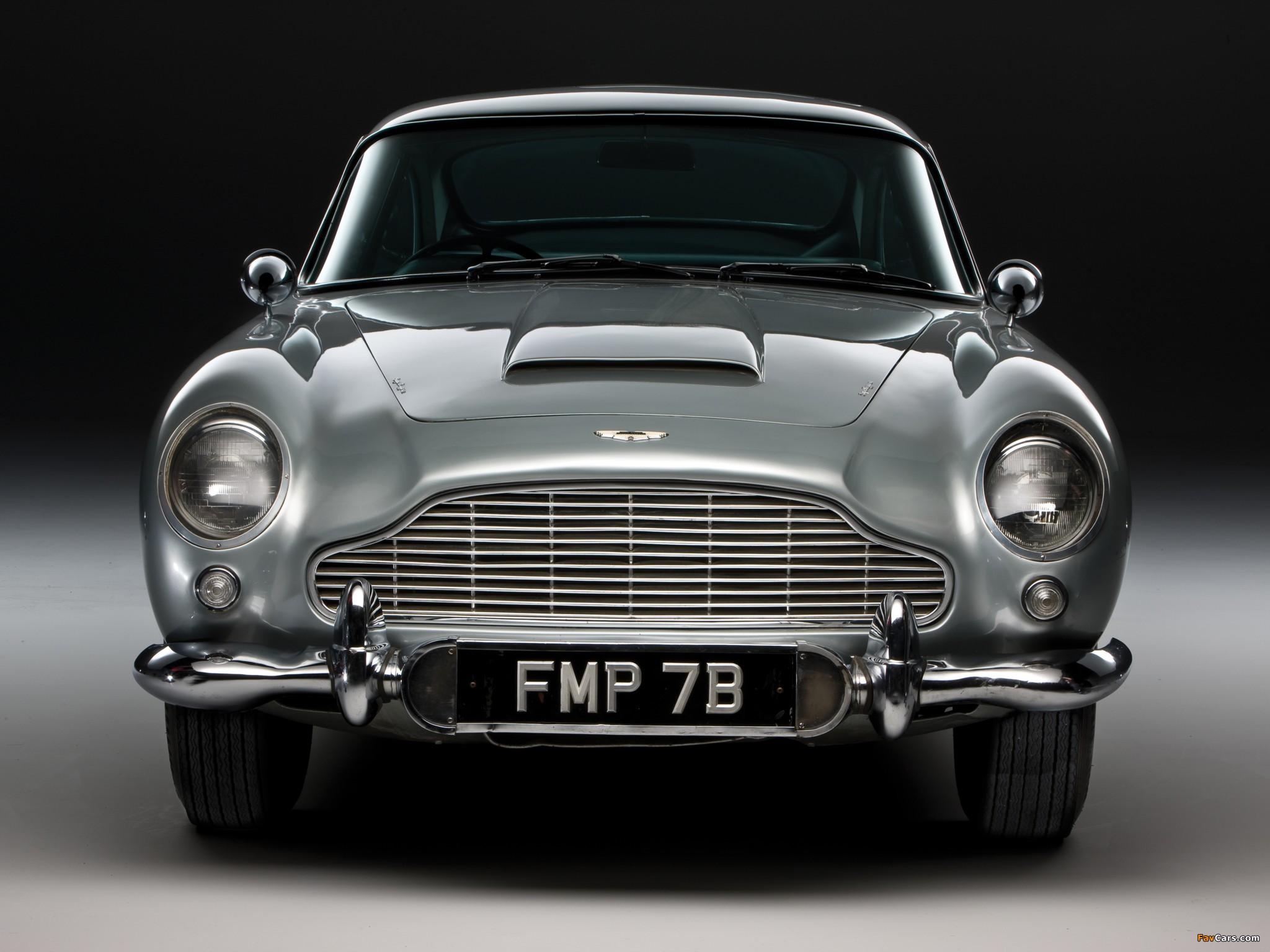 Wallpapers of Aston Martin DB5 James Bond Edition 1964 2048 x 1536 2048x1536