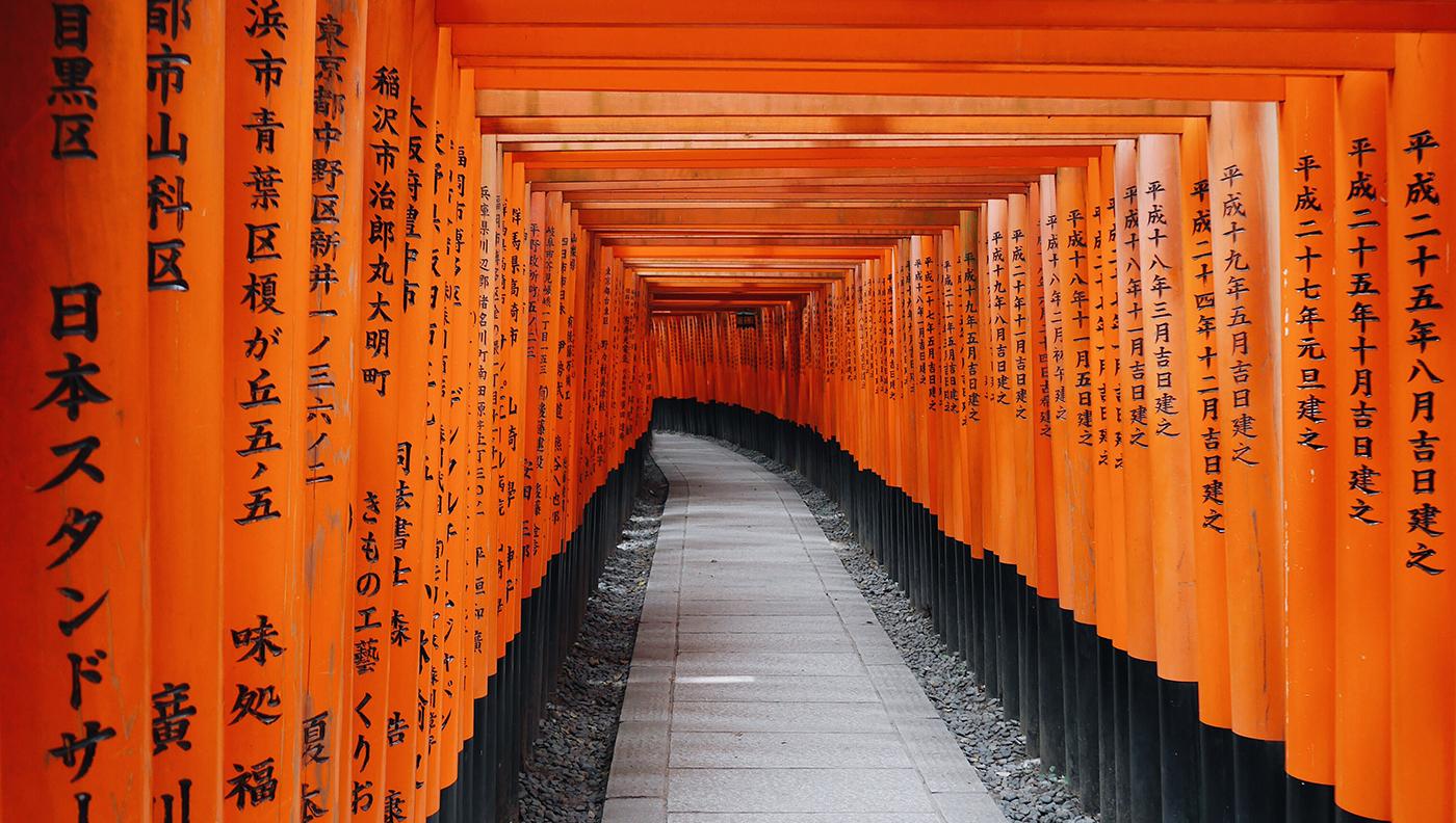 Wallpaper of the Week   Fushimi Inari Taisha 1400x792
