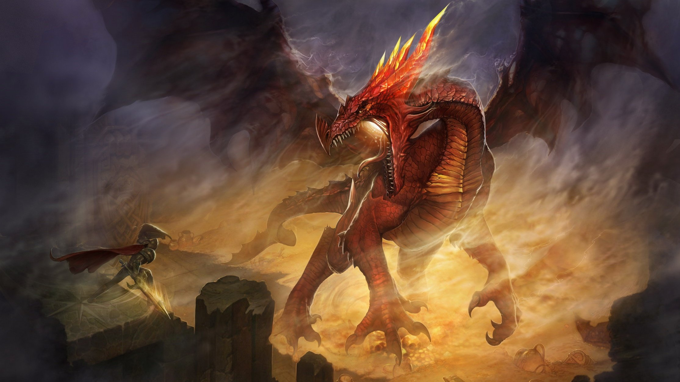 Dragon Wallpapers Metal Fantasy Heavy Metal wallpapers pictures and 2229x1253