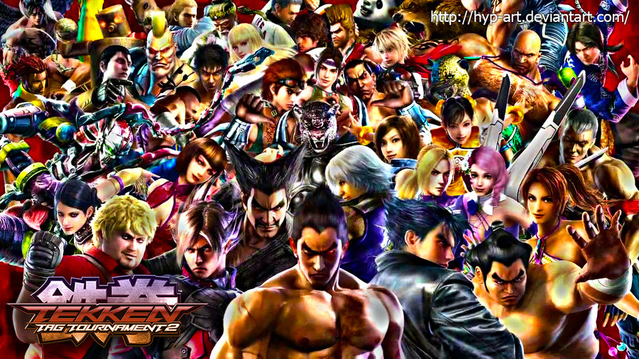 Tekken Tag Tournament 2 Wallpaper all characters by hyp art on 900x506