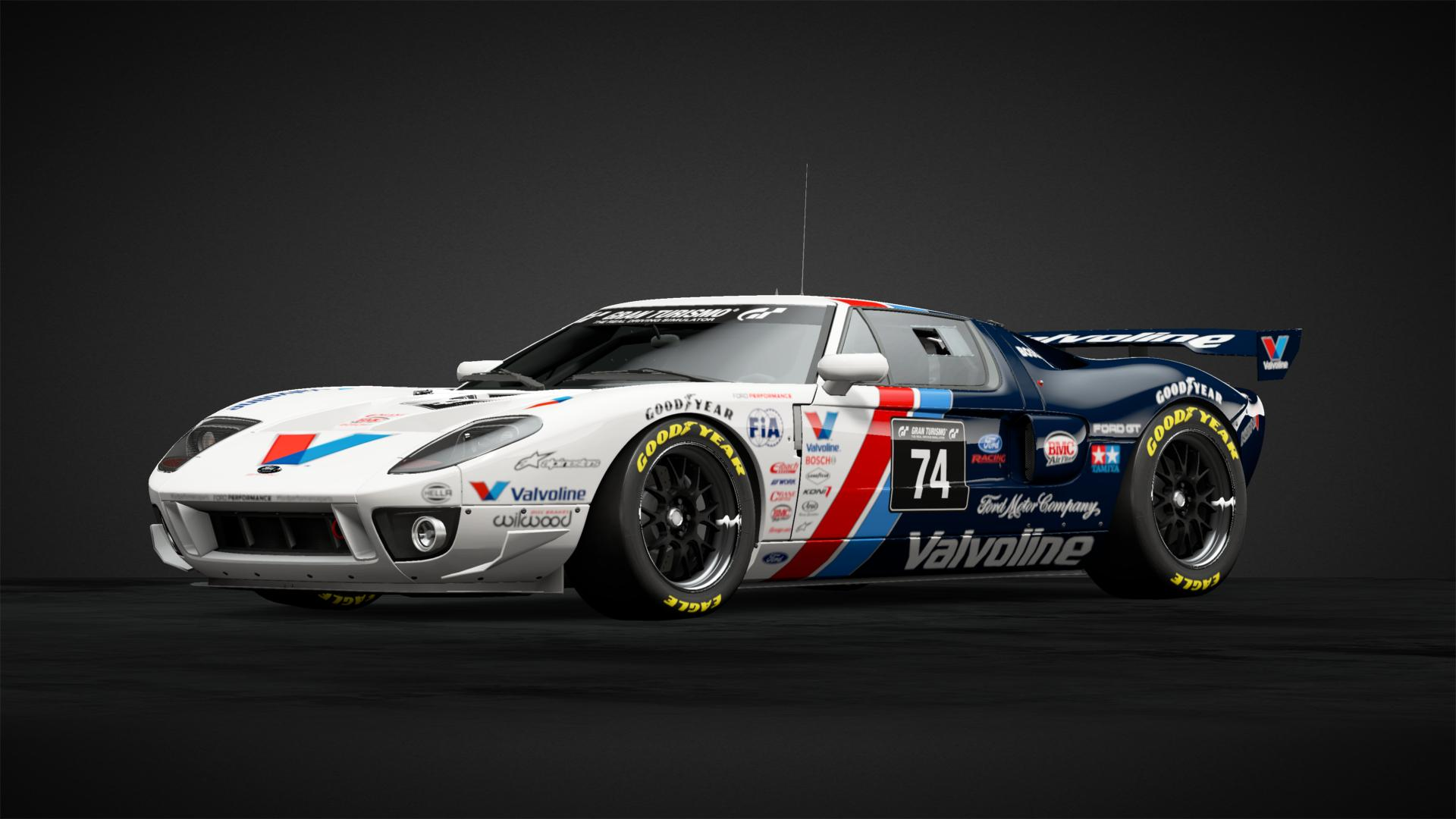Valvoline Ford GT   Car Livery by ARC 74 Community Gran 1920x1080