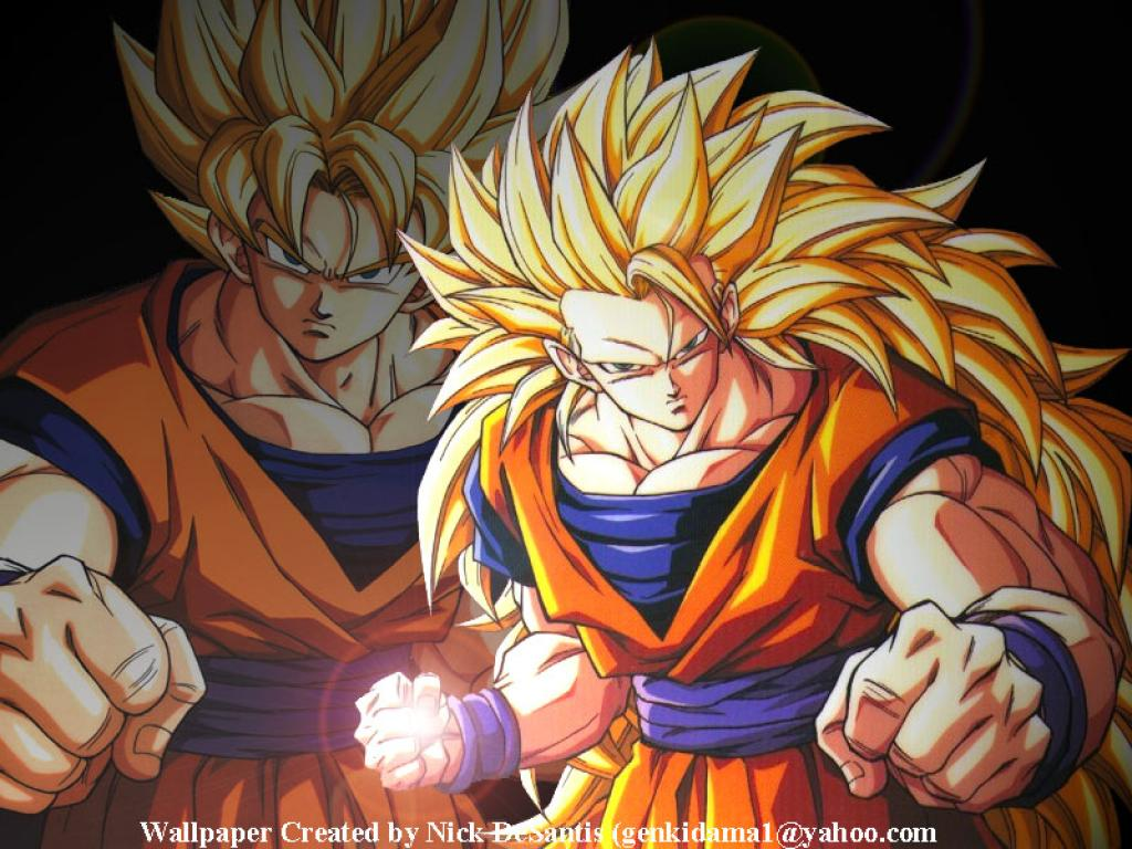 Dragon Ball Z Goku Super Saiyan 710 Hd Wallpapers in Cartoons 1024x768