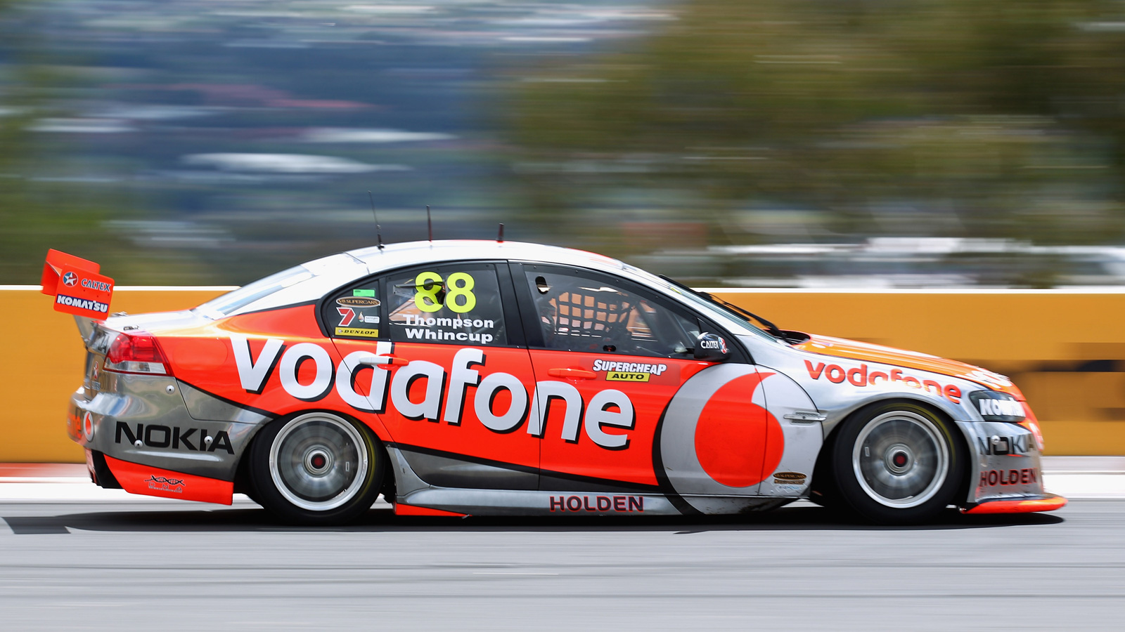 Your ridiculously cool V8 Supercar wallpaper is here 1600x900
