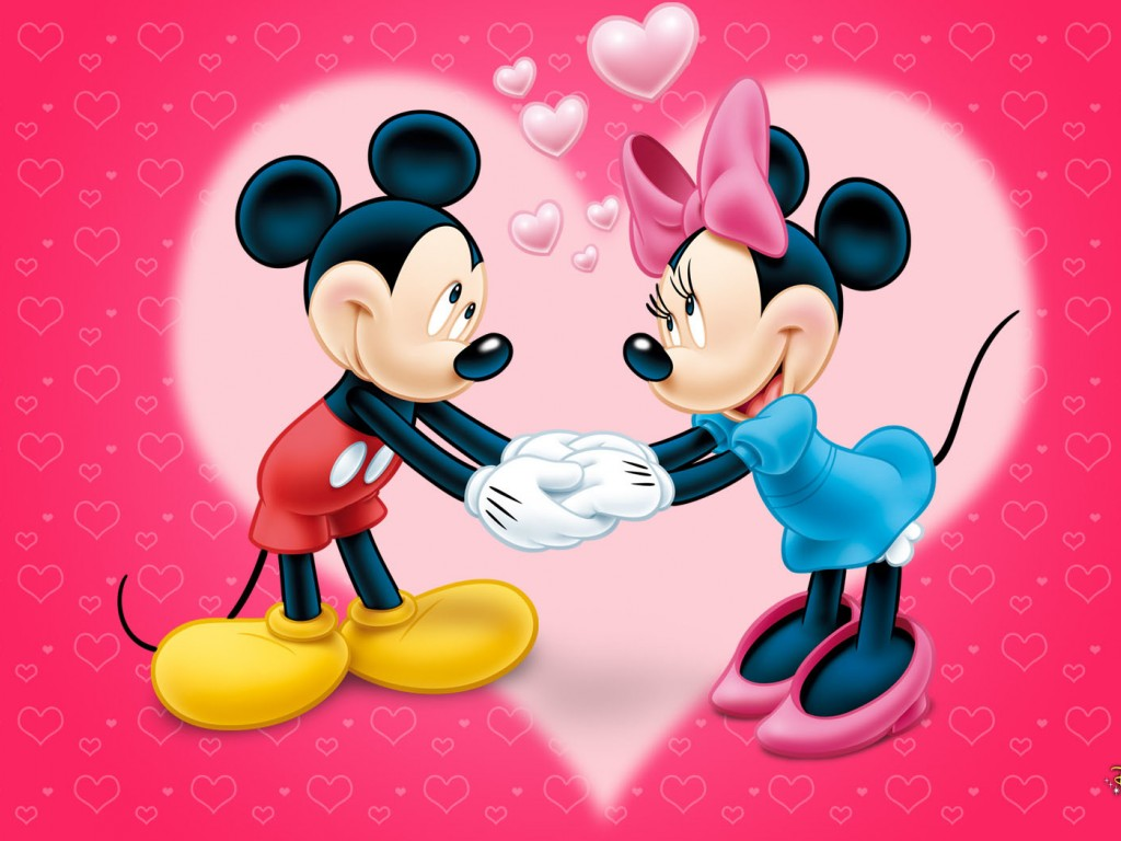 77 Minnie And Mickey Mouse Wallpapers On Wallpapersafari