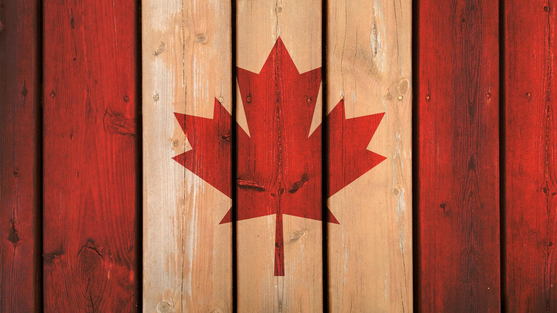 Canada Flag Background Tutorial 1920x1080