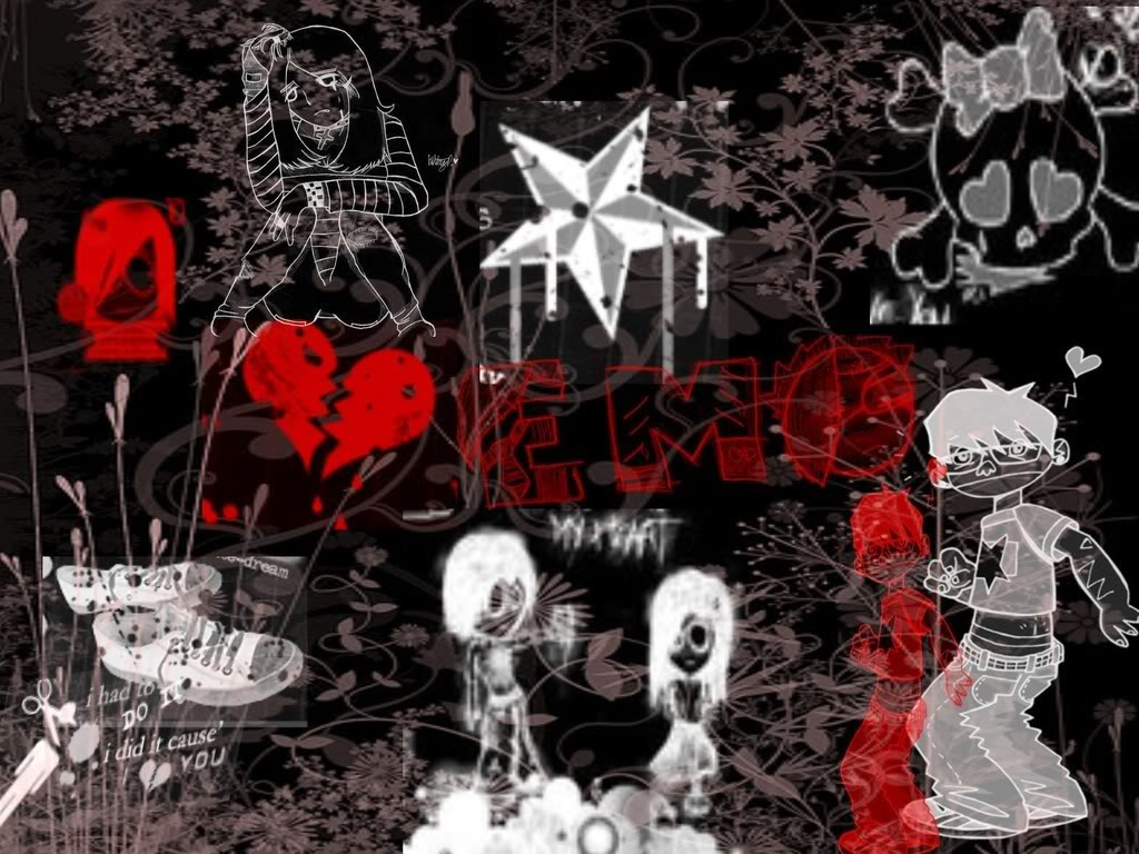 Emo Wallpaper Emo Wallpapers of Emo Boys and Girls 1024x768