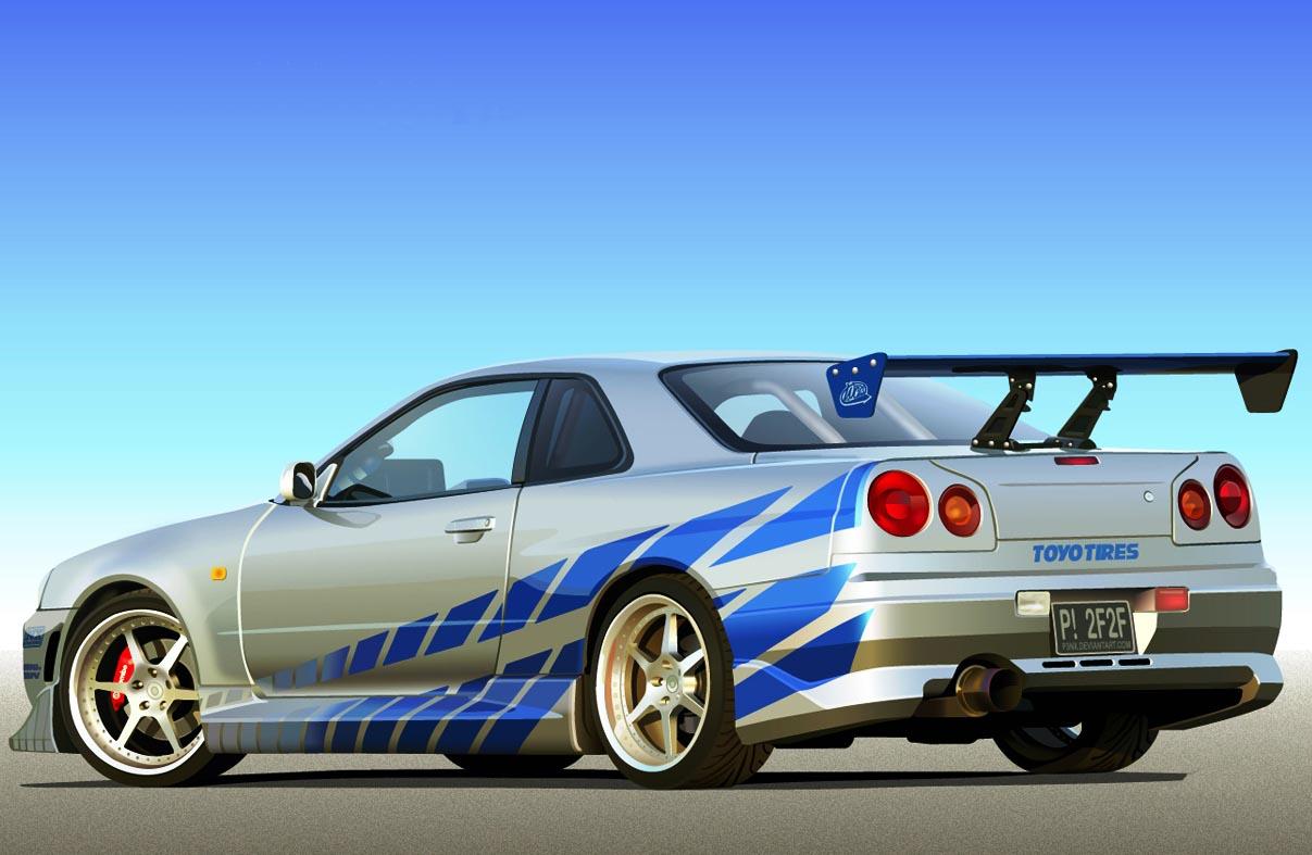 skyline fast and furious wallpaper Nissan Skyline R34 2 Fast 2 Furious 1207x787