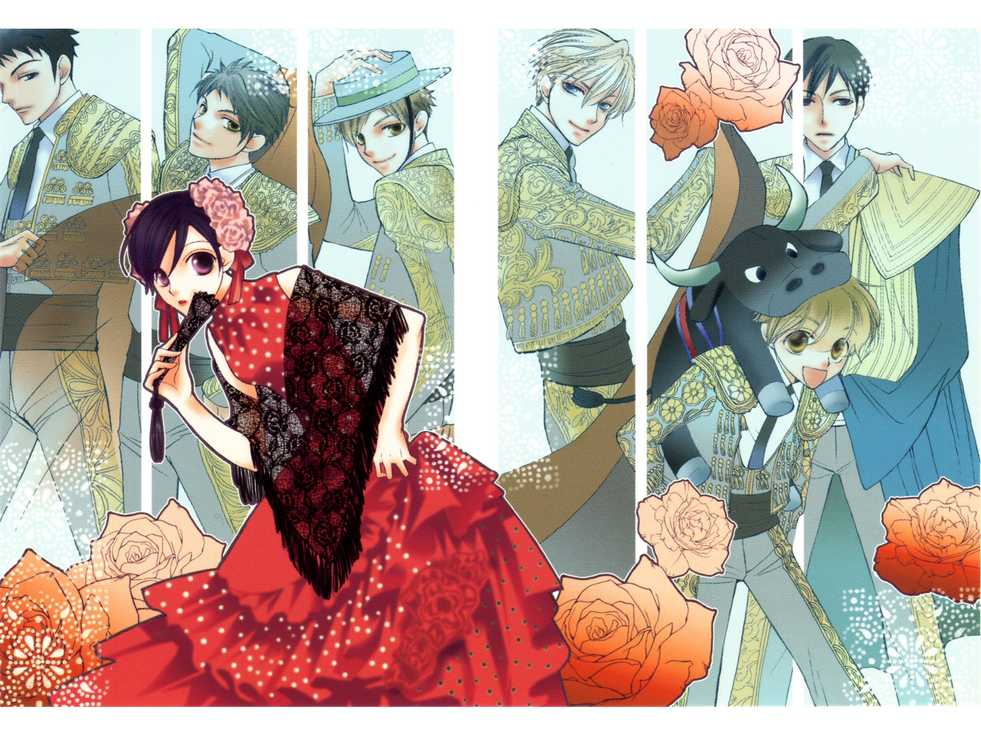 Free Download Muryou Anime Wallpaper Ouran High School Host Club